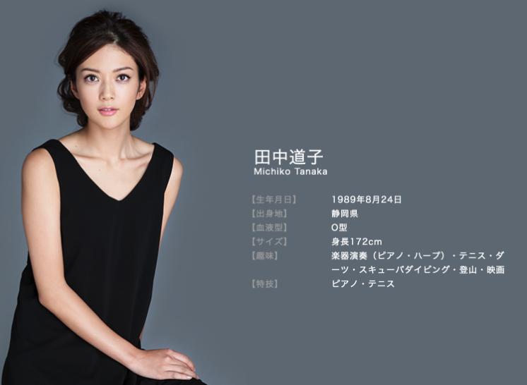 ドクターx秘書役田中道子さん静岡文化芸術大学卒ミスワールド日本