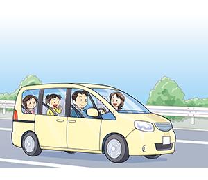 高速道路運転中にまさかの事故! 高速道路の安全ドライブ3つのポイント | 暮らしに役立つ情報 | 政府広報オンライン