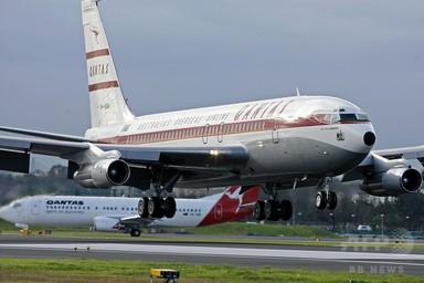 J・トラボルタさん、自身のボーイング機を豪航空博物館に寄贈 写真3枚 国際ニュース:AFPBB News