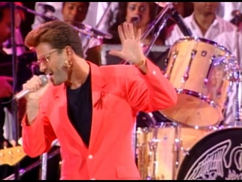 George Michael & Queen - Somebody To Love 1992 Live - YouTube