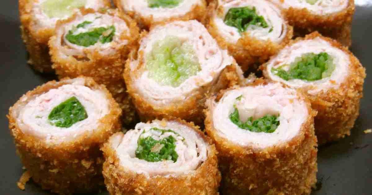 豚バラの水菜巻きカツ☆ by もりはん [クックパッド] 簡単おいしいみんなのレシピが266万品