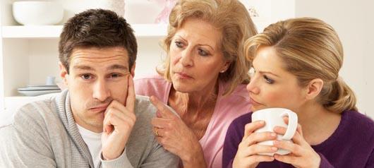 自分の親と旦那が会う頻度