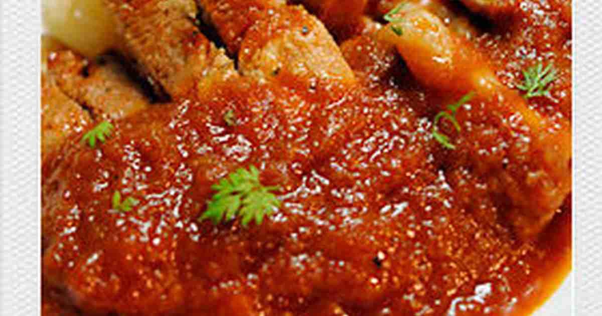シェフに褒められた♪母のポークチャップ by 874 [クックパッド] 簡単おいしいみんなのレシピが267万品
