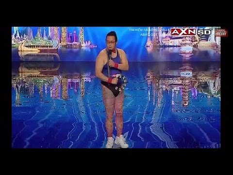 WOW AMAZING !! Master Tambourine Gonzo Asia's Got Talent 2015 - YouTube