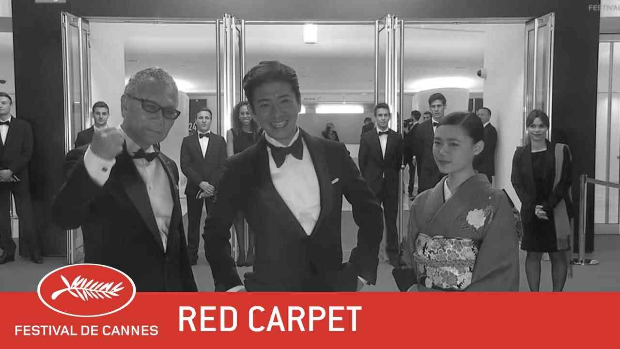 MUGEN NO JÛNIN - Red Carpet - EV - Cannes 2017 - YouTube