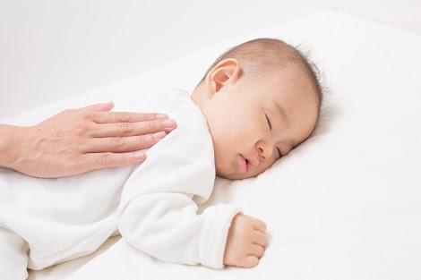 乳幼児の入眠時の癖