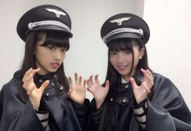 まるでナチスの軍服!アイドル「欅坂46」の新衣装が大炎上!海外でも賛否両論に!黒いマントに肩章・・・|情報速報ドットコム