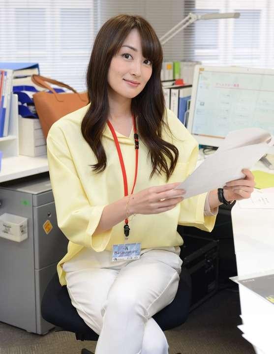 女優さんのオフィスカジュアルが見たい