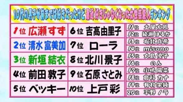 misono「誇りに思う」堀北真希と大島優子に挟まれて