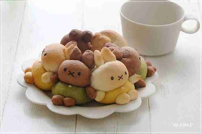 可愛いキャラクターパンが見たい♡