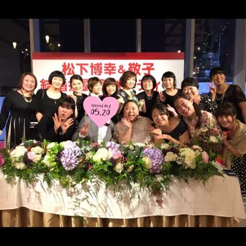 17kg減量やしろ優 江上敬子の結婚パーティーですっきりミニワンピ姿