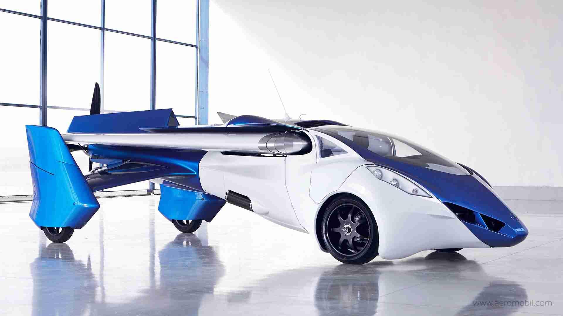 マジか?最新 「空飛ぶ車」 マジでカッコイイ! 【AeroMobi】 - YouTube