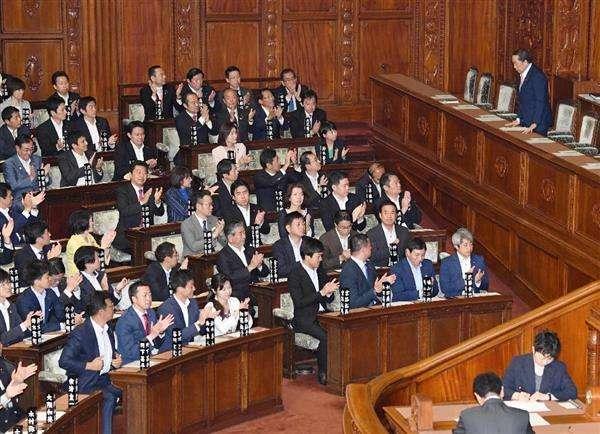 【テロ等準備罪】組織犯罪処罰法改正案が衆院通過 自民、公明両党と日本維新の会などの賛成多数で可決 - 産経ニュース
