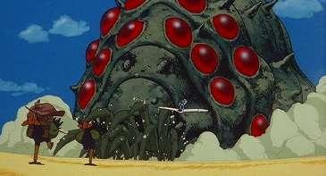 【閲覧注意】渡しなさいナウシカ! 「ナウシカ」の王蟲そっくりなタケノコが大地の怒りを買いそう