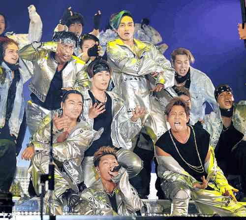 EXILE THE SECONDが全国ツアーで動員40万人超