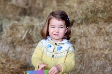 シャーロット英王女、もうすぐ2歳に キャサリン妃撮影の写真公開 写真1枚 国際ニュース:AFPBB News