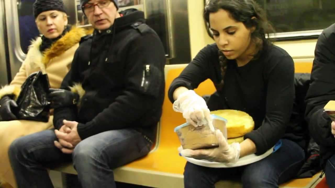 Subway Cake Performance 02/11/14 - YouTube