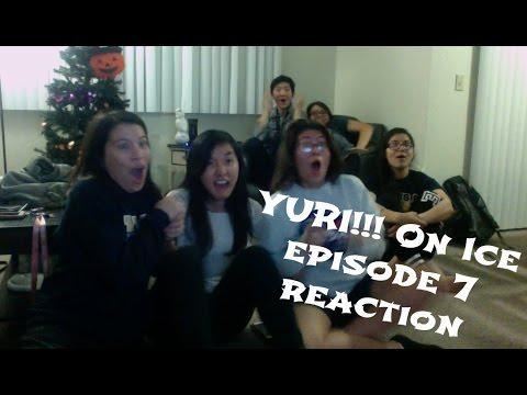 YURI!!! ON ICE EPISODE 7 REACTION (Highlights) - YouTube