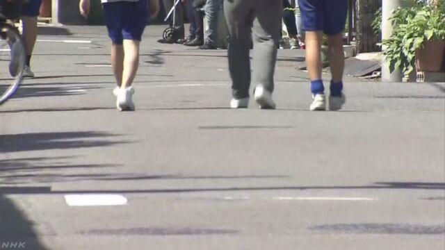 通学路暴走動画 少年ら2人逮捕 殺人未遂の疑いで   NHKニュース
