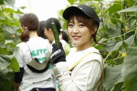 高橋みなみ、ボランティアにサプライズ登場 福島で農作業をお手伝い | ORICON NEWS