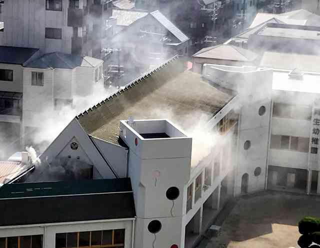 幼稚園で放火か 園児ら18人避難、けが人なし 大阪