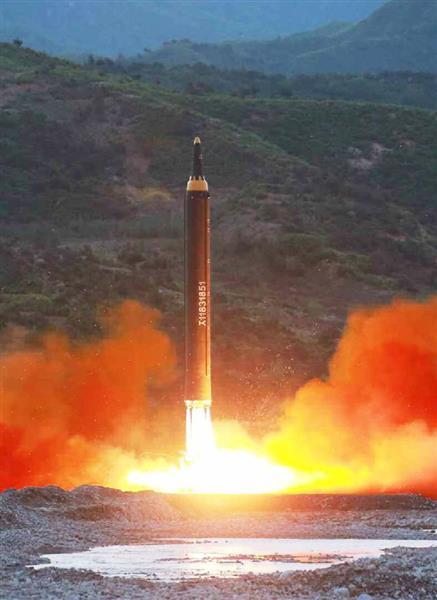 【北ミサイル】落下地点は奥尻島から約450キロ、日本の防空識別圏内