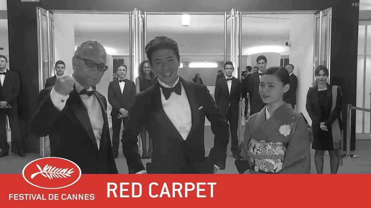 MUGEN NO JÛNIN - Red Carpet - EV - Cannes 2017 - YouTube
