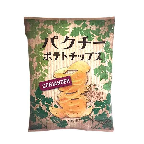 <おひとり様3点まで>カルディオリジナル パクチーポテトチップス 60g | カルディコーヒーファーム 公式オンラインショップ