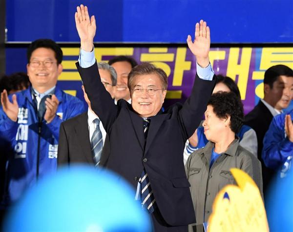 【韓国大統領選】韓国全土で投票始まる、新大統領は10日朝にも就任 - 産経ニュース