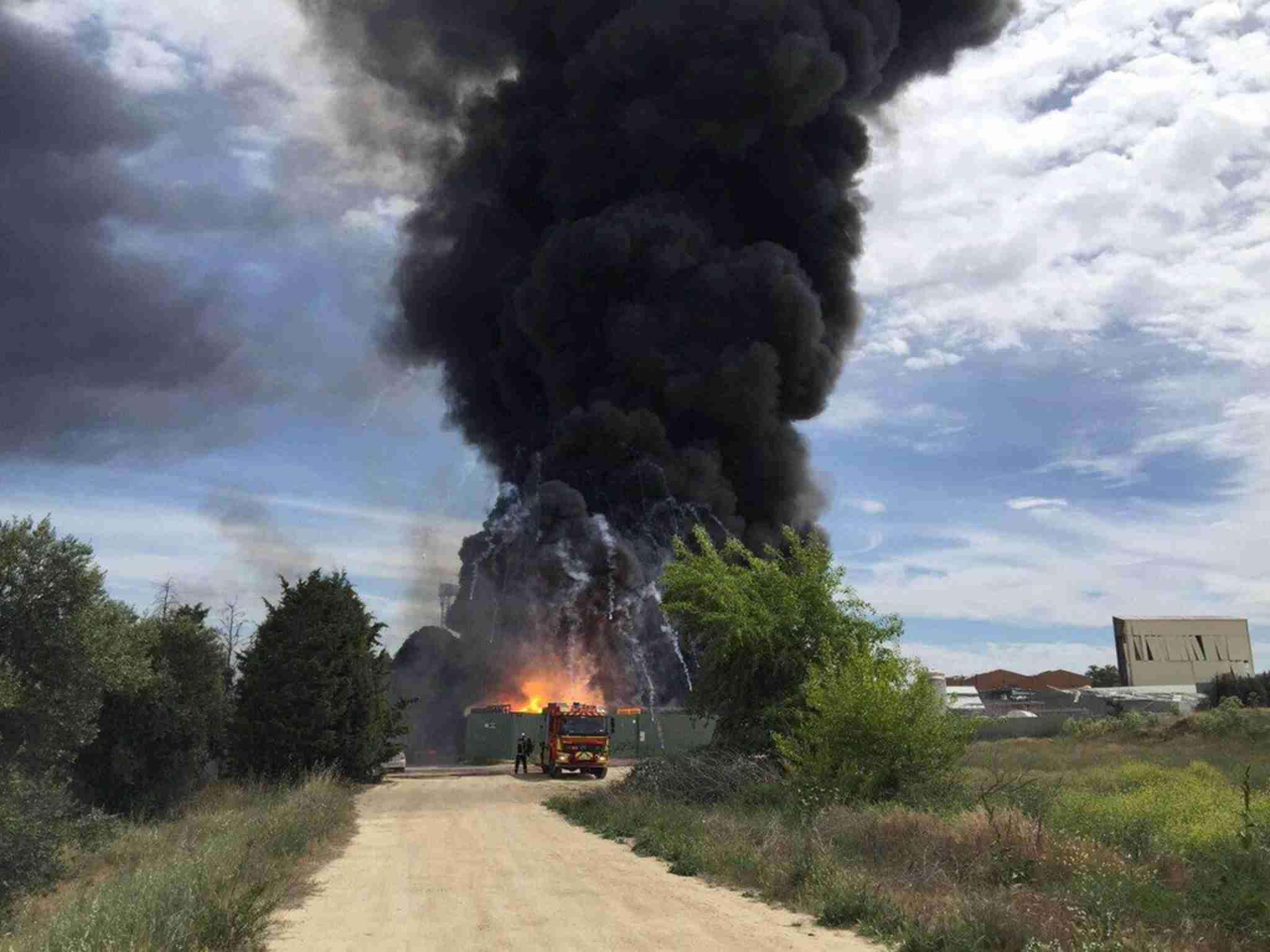 スペイン首都近郊の化学廃棄物リサイクル処理場で爆発、37人負傷 (AFP=時事) - Yahoo!ニュース