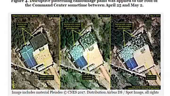 北朝鮮の核実験場、指令センターの屋根が迷彩色に TBS NEWS