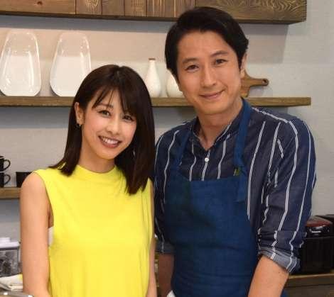 カトパン、ついにTBS初出演 事務所先輩・谷原章介の冠番組で手料理も披露 | ORICON NEWS