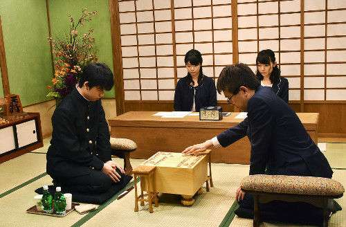 【将棋】14歳・藤井聡太四段が16連勝