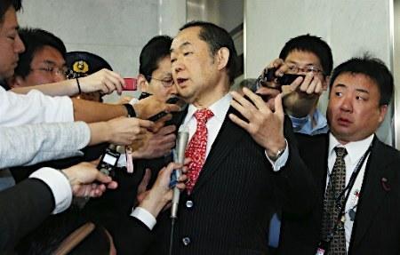 野党、法相不信任案を提出=「共謀罪」採決、19日にずれ込み (時事通信) - Yahoo!ニュース