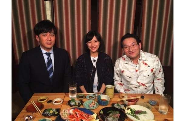 芳根京子の小顔さに驚き!安住紳一郎アナ、春風亭昇太との3ショット公開で