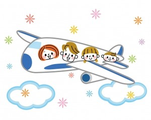 赤ちゃん連れの飛行機、旅行の心得教えて下さい。
