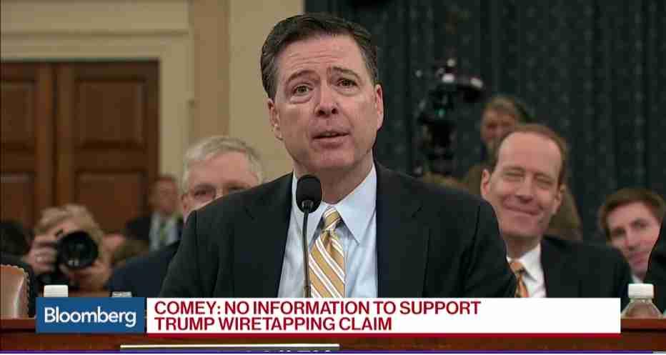 FBI長官、「オバマ氏に盗聴された」というトランプ大統領のツイートを否定 - ITmedia NEWS