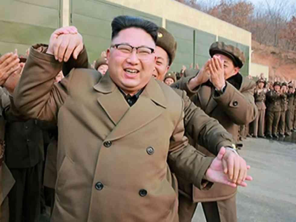 北朝鮮の核実験場、指令センターの屋根が迷彩色に