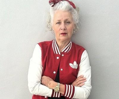 おしゃれなおばあちゃんサラジェーン・アダムスのInstagramが素敵♪ - ツイナビ   ツイッター(Twitter)ガイド