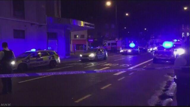 ロンドン 車両1台が突っこみ多数のけが人 1人拘束 | NHKニュース