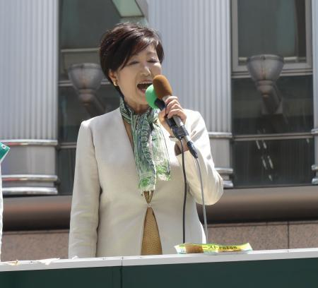 小池都知事が「身重候補」批判に反論「あり得ない」 (日刊スポーツ) - Yahoo!ニュース