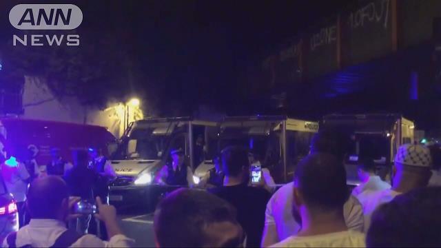 """ロンドンでまた車暴走 けが人多数 """"白人男""""逮捕"""