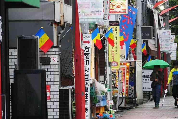 【徹底取材】なぜか11月18日だけ東京都杉並区方南町の街が「青黄赤の旗」だらけになる理由 | バズプラスニュース Buzz+