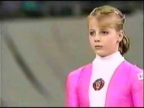 Olesya Dudnik - 1989 Worlds EF - Vault 2 - YouTube
