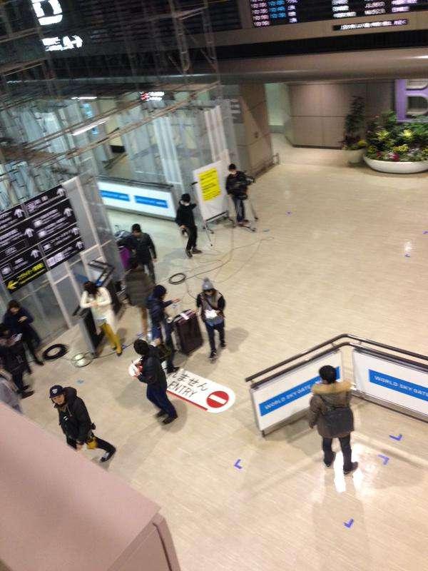 【画像】KAT-TUN・亀梨和也が成田空港でCAをナンパ?:ジャニーズTwitterまとめ