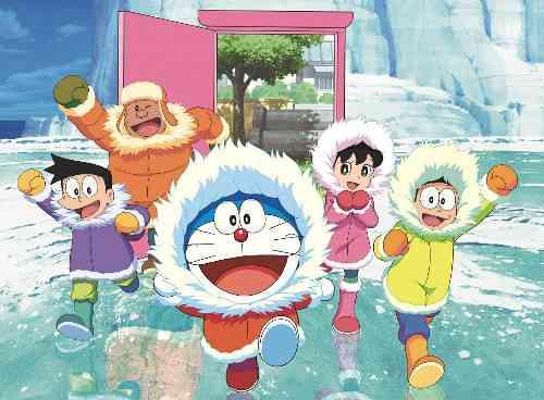 ドラえもん映画最新作「南極カチコチ大冒険」がシリーズ歴代最高興行収入!!