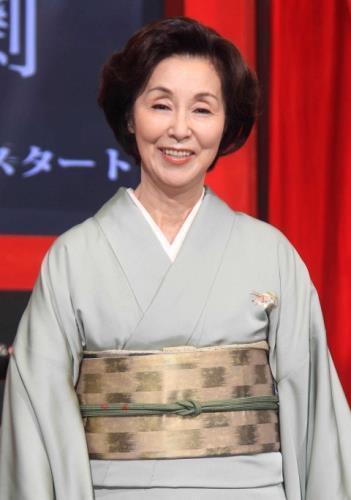 野際陽子さん13日に亡くなる、81歳 : スポーツ報知