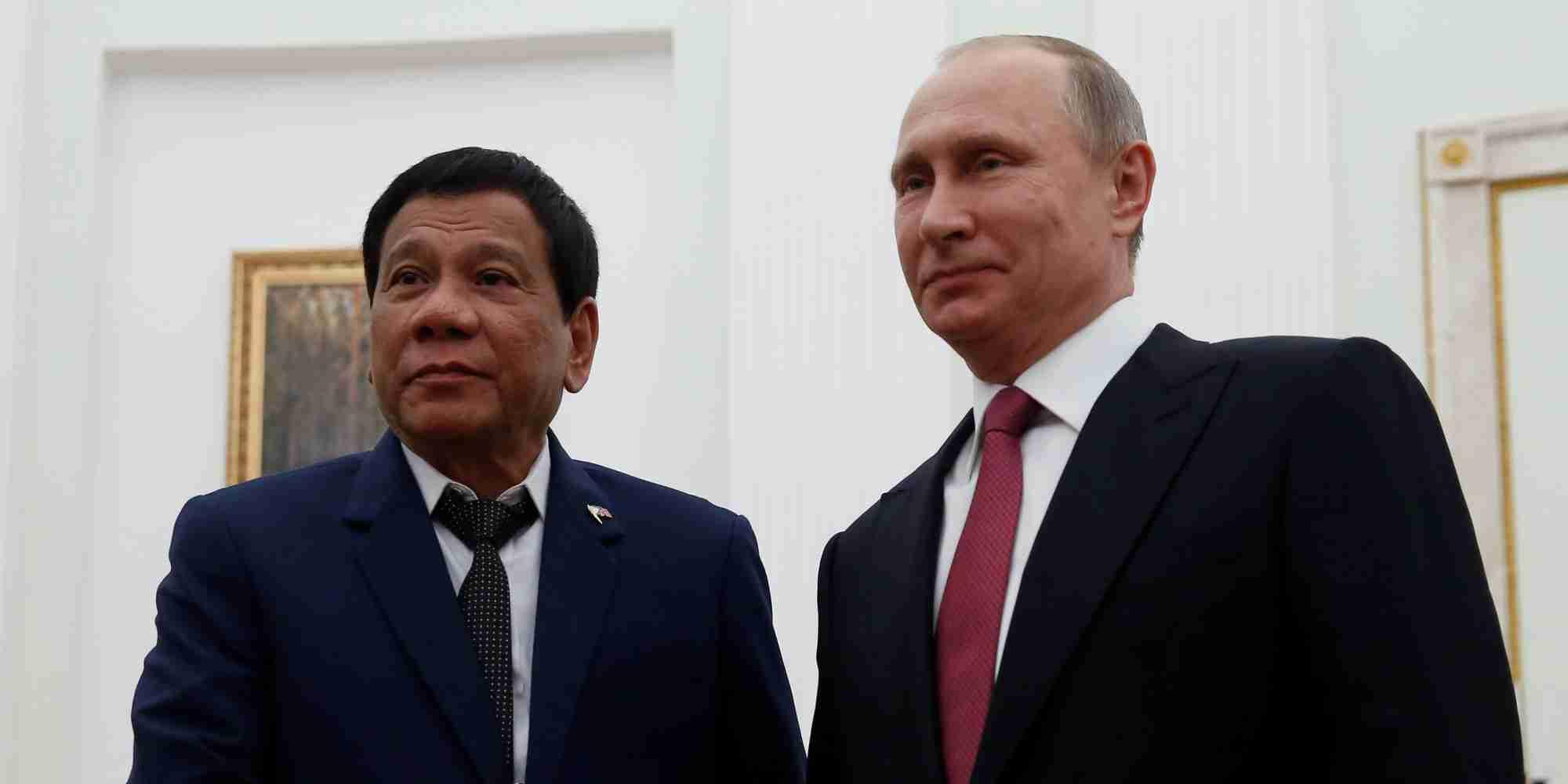 ドゥテルテ大統領がフィリピン南部に戒厳令 政府軍とイスラム過激組織の衝突で