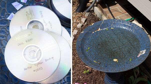 いらなくなったCDが、こんなに美しいモザイクアートに変貌!CDをアート作品として復活させる方法