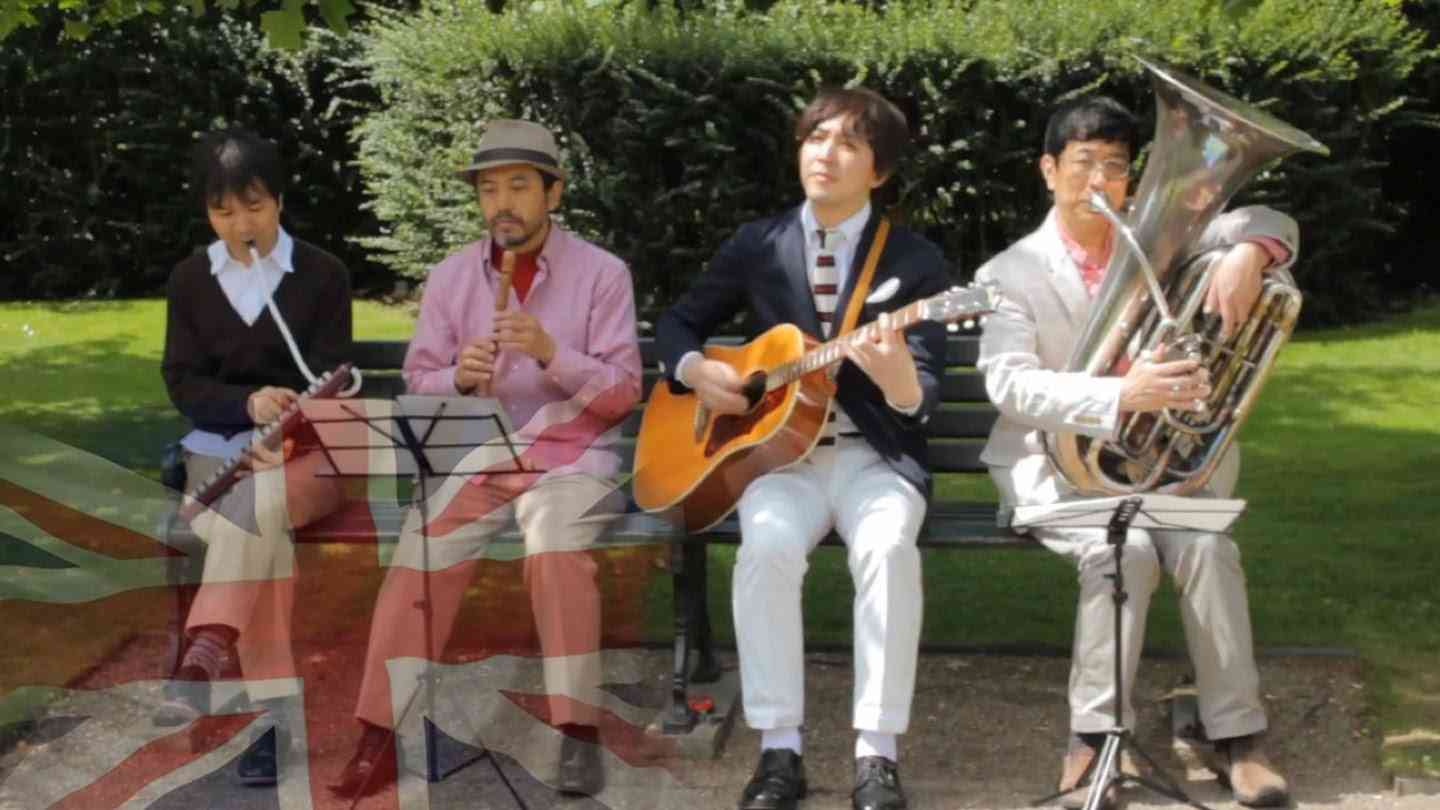 Kuricorder Quartet in London - Japanese folk band's first UK tour - YouTube